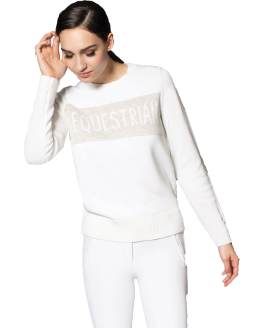 Asmar Ivy Sweater in White