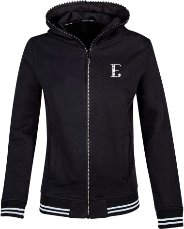 Equiline Gaia Sweatshirt in Black