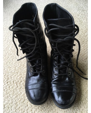 PADDOCK BOOTS - BLACK LACED