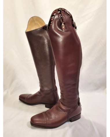 Secchiari Semi Custom Dress Boots - Size 38 H3/XS (Women's 7.5/8 Tall)