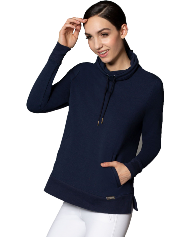 Asmar Prague Pullover in Navy