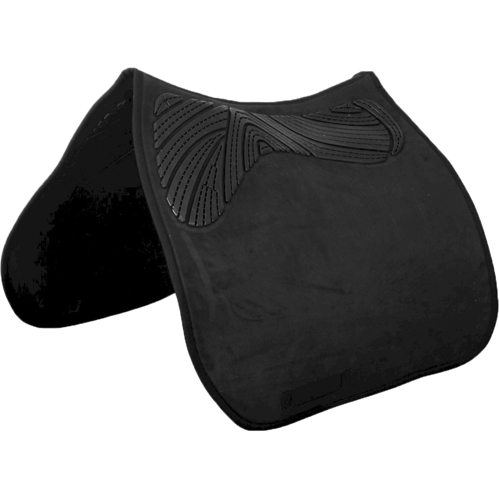 Acavallo Twin Sided Gel Pad Dressage AC293 in Black - Size M