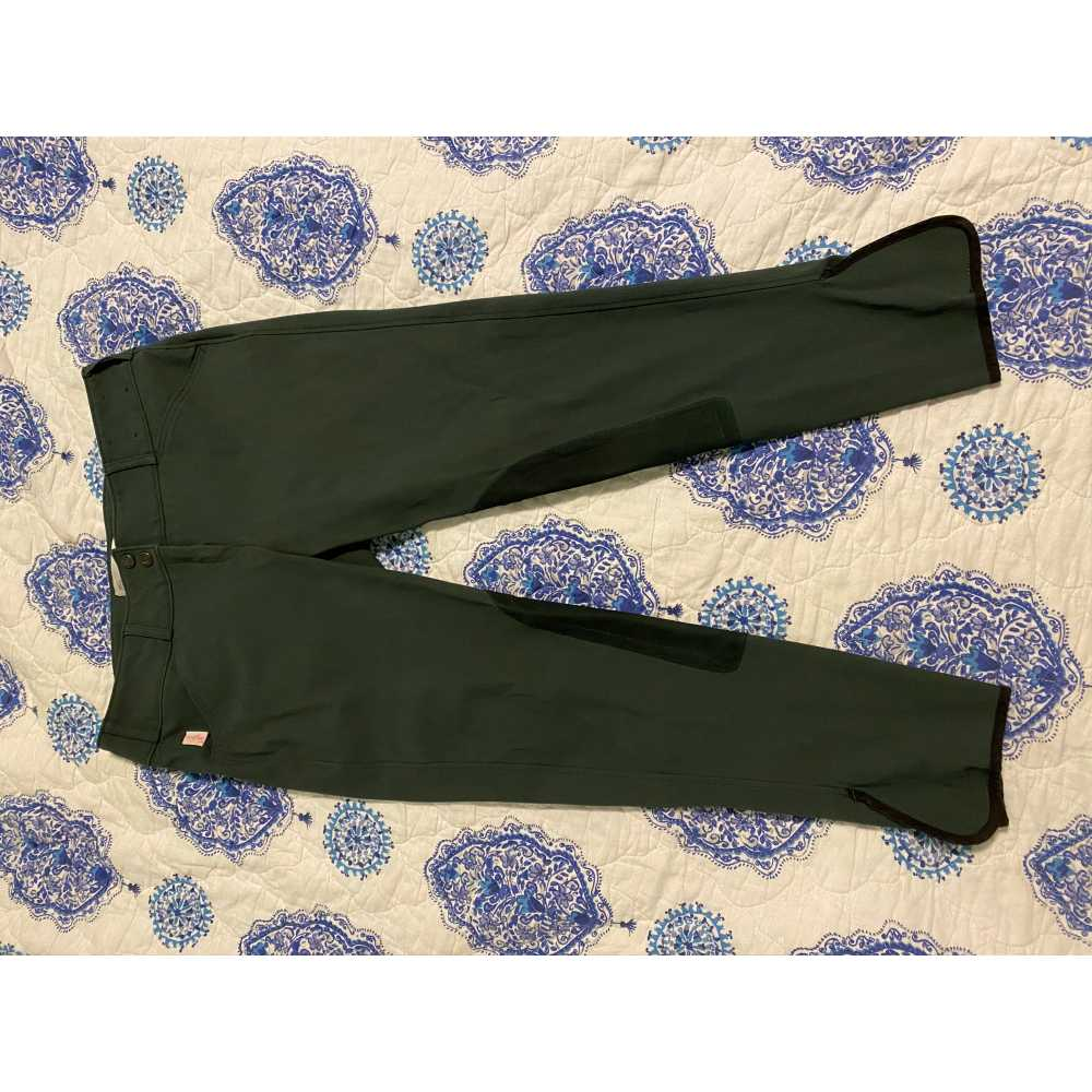 TS Brand new black Forrest green breeches