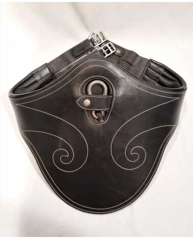 Fancy Stitched Belly Guard Girth - 50""