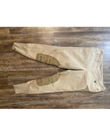 Equine couture Tan breeches size 32