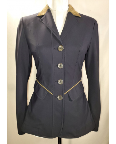 Grand Prix Saltare Premio Ladies Show Jacket - Navy/Moss - New!