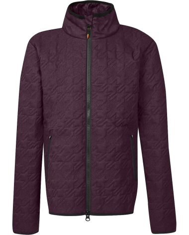 Kerrits Quilted Barn Jacket in Mulburry