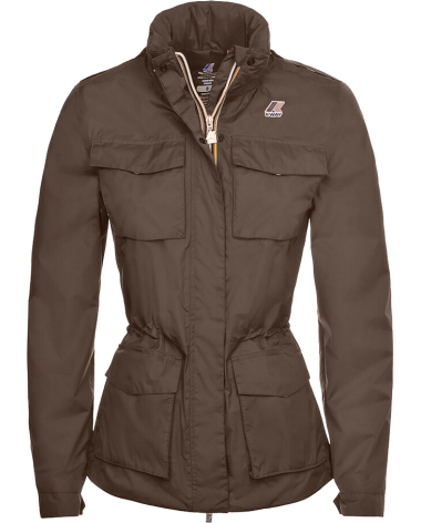 Edit Grand Prix K-Way Womanfield in Taupe