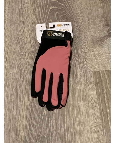 Crush pink noble equestrian perfect fit gloves