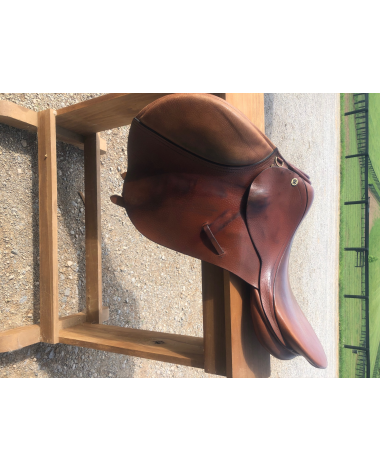 Cliff Barnsby 17 saddle