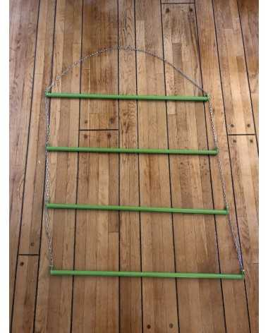 HORSE CLOTHING RACK - GREEN