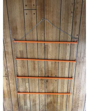 HORSE CLOTHING RACK - ORANGE