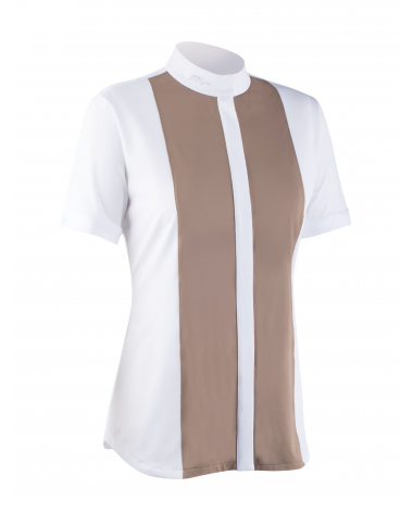 Anna Scarpati Short sleeve woman competition polo for sale