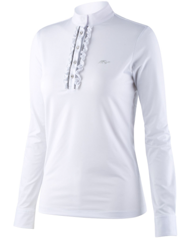 Anna Scarpati Long sleeve woman competition polo