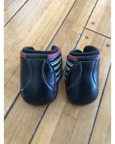 EquiFit Eq-Teq Hind Boots - M Size - Black & Red