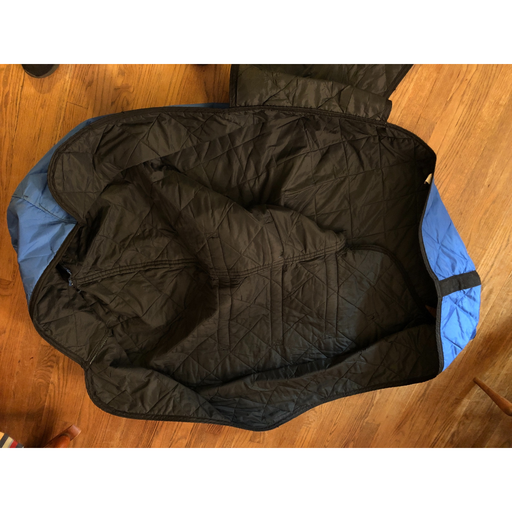 Excellent Condition Ayres Stable Blanket Blue Size 74