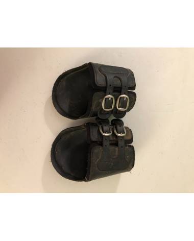 Excellent Condition Hippos Back Boots Black