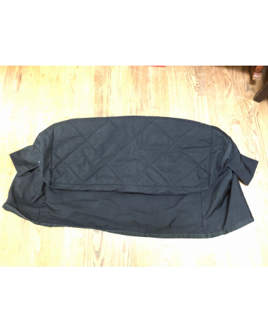 NEVER USED Black Padded Tack Trunk Cover
