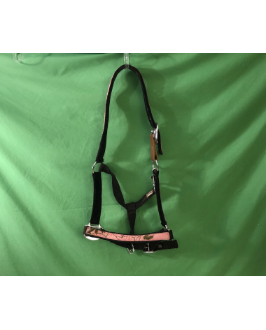 Excellent Condition Hot Pink Camouflage Halter