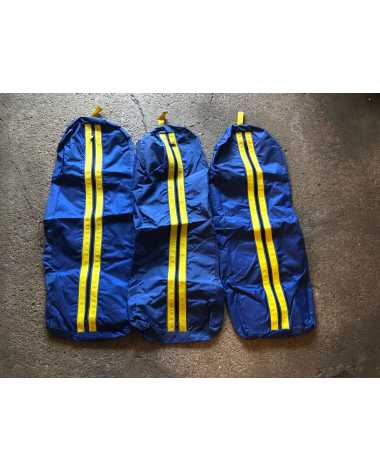 Blue & Yellow Bridle Bags