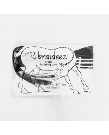 Braideez Black Braiding Wire