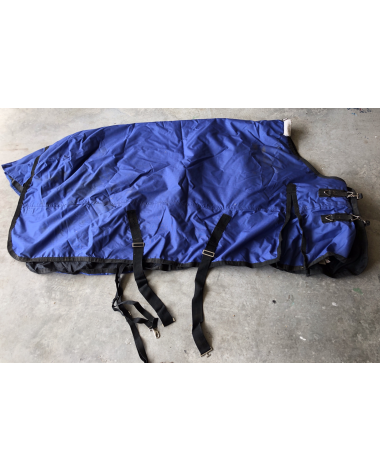"""80"""" Royal Blue Turnout Sheet (Rider's International by Dover)"""