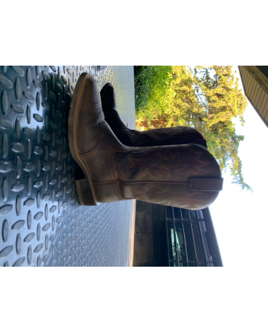 Gently Used Ariat Western Boots