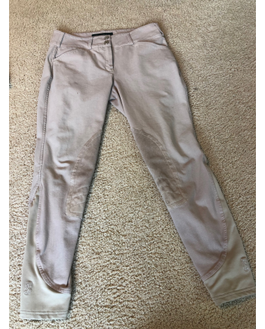 Tredstep Symphony Rosa II Knee Patch Breeches Front Zip