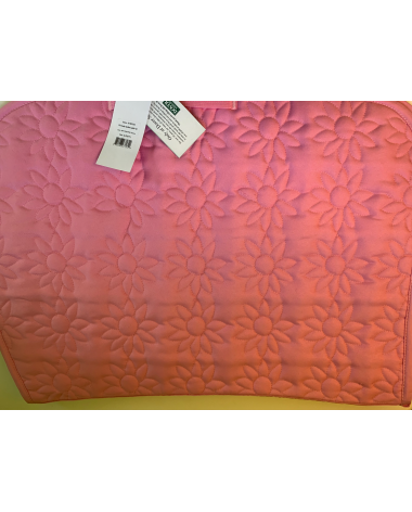 NWT Dover saddlery saddle pad in pink floweres