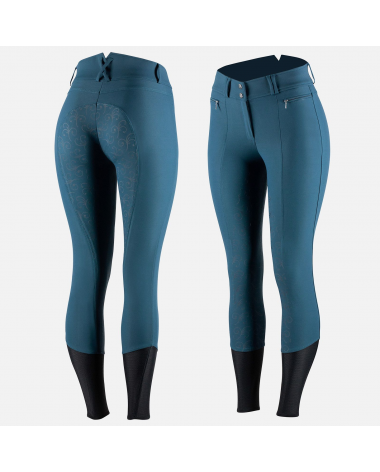 Horze Women's Angelina Full Seat Breeches - Silicone Grip