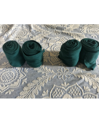 4 Green polo wraps