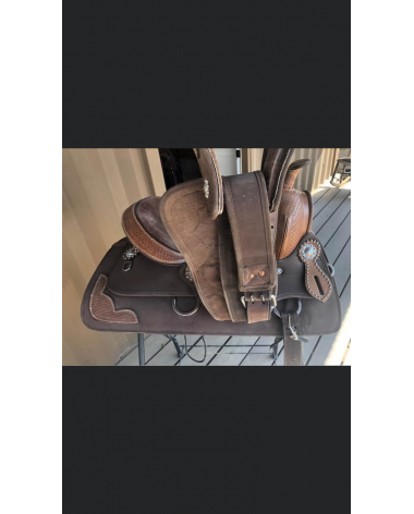 Used Tahoe Synthetic Western Saddle