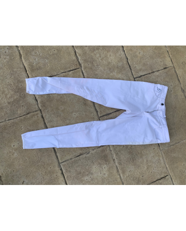 Men's Anna Scarpati White Breeches I-46