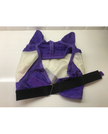 Fly Mask - Full Size with Ears- Purple