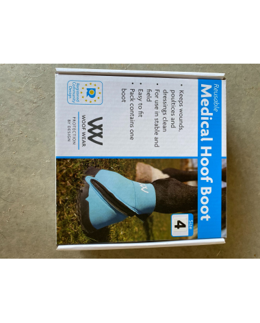 Woof wear size 4 medical boot
