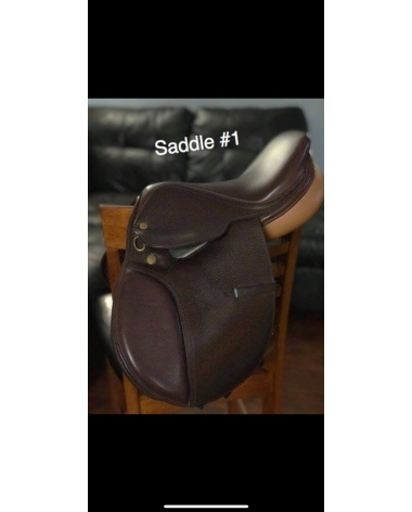 "Bevel Princeton 13"" children's saddle"