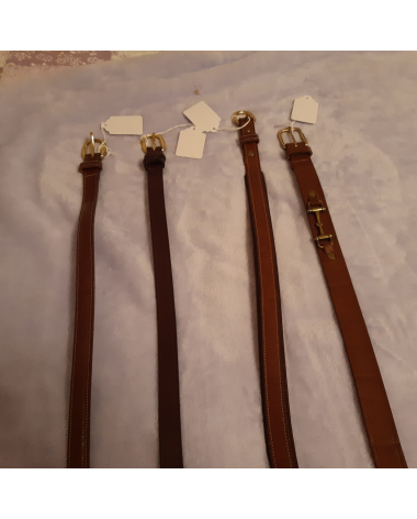 4 Tory Bridle Leather belts