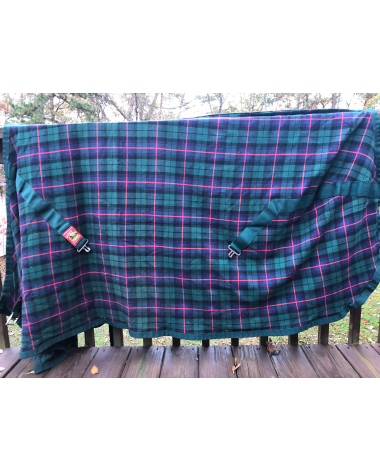 Excellent condition Plaid lightweight Baker stable sheet Size 78