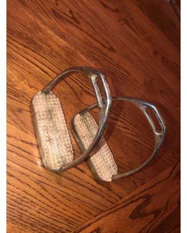Used Tack Composti 4 75 Quot Stirrup Irons In Royal