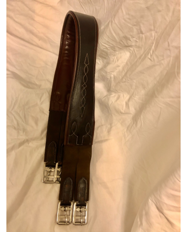 """Bobby's English Tack Signature Series Fancy Stitched Long Girth (46"""")"""