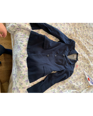 Devon-Aire Size 10 Youth Navy Show Coat