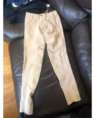 equistar beige pants *YOUTH SIZE 12*