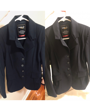 Tredstep Solo Pro Competition Coat- Navy/Size 2