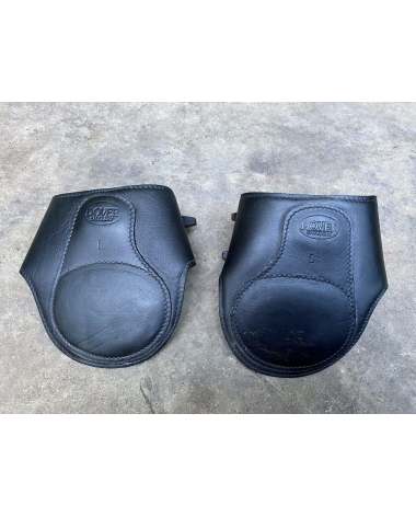 Dover set of Four Black Equitation Open Front and Ankle Boots