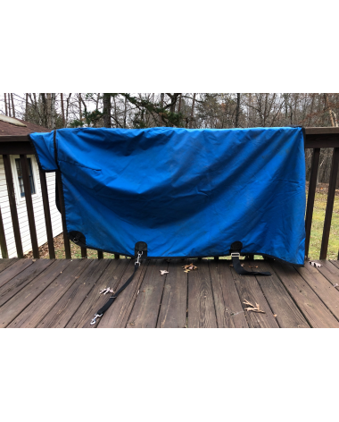 Excellent Condition King Blanket Light Weight Size 82