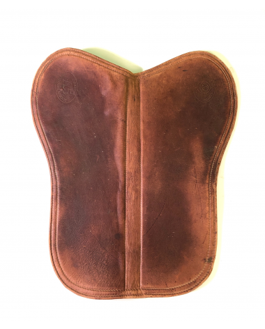 Excellent Condition Tad Coffin A5 Leather Saddle Pad