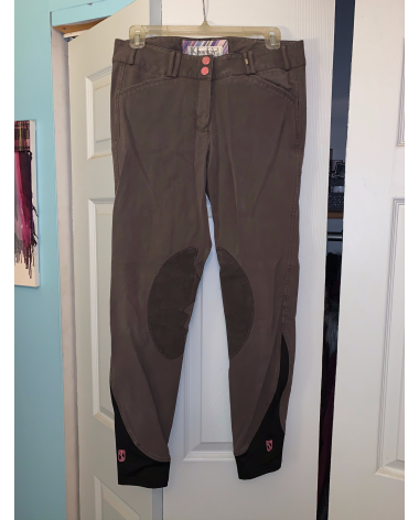 Tredstep Symphony Brown Knee Patch Breeches 28L