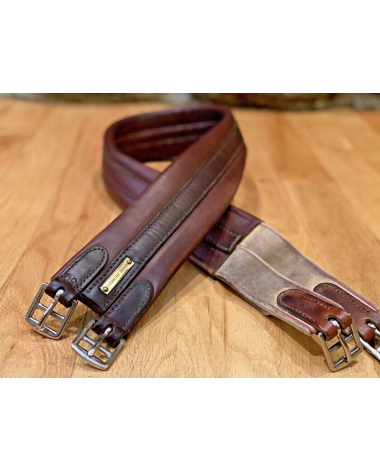 "50"" Leather Hunter Jumper Brown Long Girth"