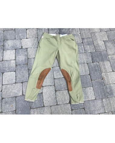 Tailored Sportsman Supreme Hunter Low Rise Beige Breeches | Size: 32R | Style: 1985