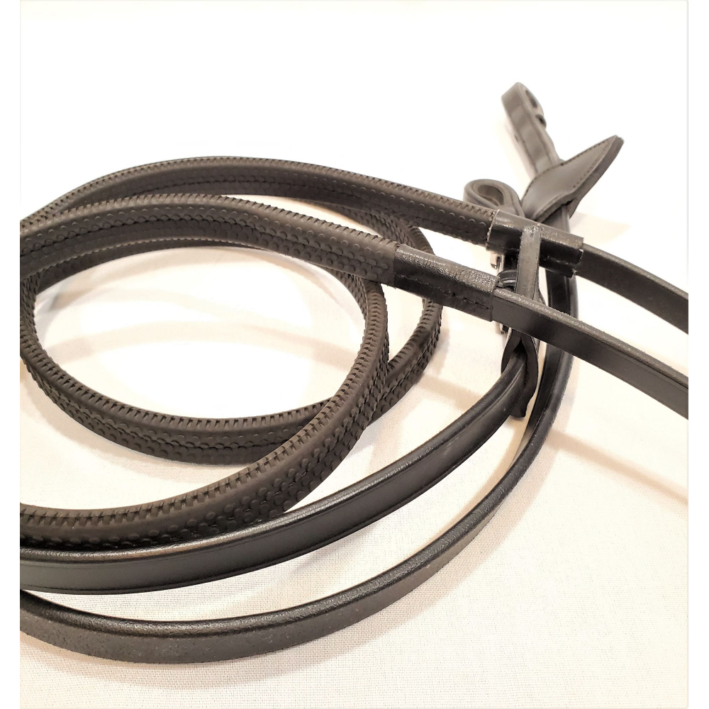 """Dy'on 1/2"""" Rubber Reins - Full - New!"""